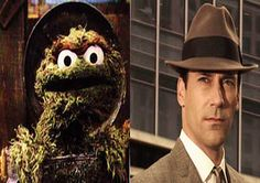 Muppets and Their Mad Men Counterparts