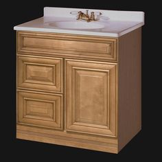 30 Maple Bathroom Vanity briarwood centerpoint vanity sink, 30w x 21d x 34.5h, base only