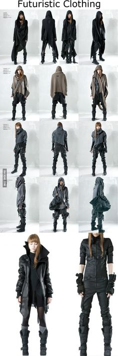 Funny pictures about Futuristic Clothing Designs. Oh, and cool pics about Futuristic Clothing Designs. Also, Futuristic Clothing Designs photos. Mode Cyberpunk, Cyberpunk Fashion, Dystopian Fashion, Cyberpunk Clothes, Fashion Mode, Look Fashion, Fashion Design, Rebel Fashion, Womens Fashion