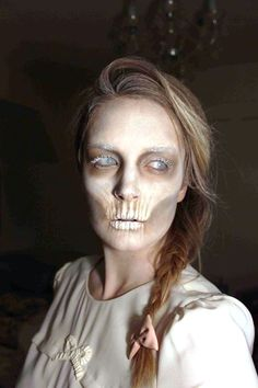 ghost makeup ideas for women