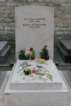 Sartre & Simone de Beauvoir