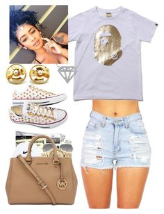 """""""Thug online"""" by fashionistabeautylove ❤ liked on Polyvore featuring Ray-Ban, Converse, Chanel and Bling Jewelry"""