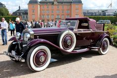 1929 Hispano Suiza Cabriolet by Hibbard and Darrin of Paris Vintage Cars, Antique Cars, Retro Cars, Hispano Suiza, Go Car, Art Deco Home, Car Makes, Sweet Cars, Old Cars