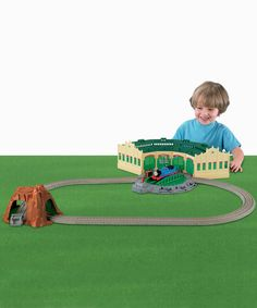 Thomas & Friends TrackMaster Tidmouth Sheds Track Set