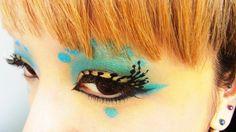 Dive into the imaginary sea.  --kawaii matsuge*SPLISH SPLASH*Paper fake eyelashes --カワイイマツゲ*水飛沫*紙製つけまつげ