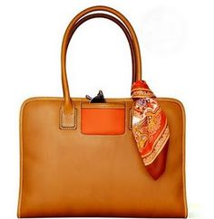 """Trash Fox Red"" Florentine Vachetta leather bag"