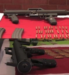 Homebuilt automatic rifle surrendered in Bogota - The Firearm Blog