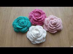 Tığ işi gül yapımı/Örgü modelleri - YouTube Teapot Cover, Yarn Shop, Flower Applique, Easy Crochet Patterns, Knitting Stitches, Baby Booties, 5 Minute Crafts, Crochet Flowers, Vintage Patterns