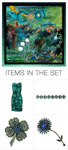 """""""7957 - electric sheep"""" by suburbhater ❤ liked on Polyvore featuring art"""