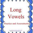 See preview for a look at more of the worksheets that are included. I have created 17 pages of worksheets that focus on long vowel sounds.