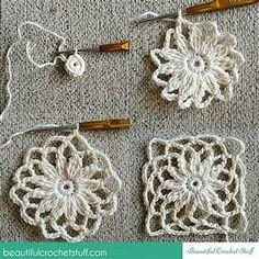 Crochet Leaf Tunic Free Pattern | Beautiful Crochet Stuff