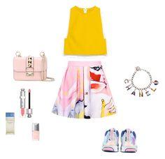 """#3"" by viktoriua-malushina on Polyvore featuring мода, BIG PARK, adidas, Zara, Chanel, Valentino, Christian Dior и Dolce&Gabbana"