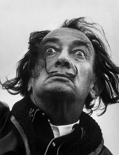 SALVADOR DALI.........PHOTO BY PHILIPPE HALSMAN................ON MAGNUM PHOTOS.....