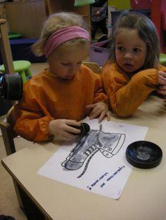 Schilderen met schoensmeer