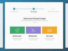 Onboarding Progress designed by Vikrant. Car Loans, Bar Chart, Goals, How To Plan, Bar Graphs