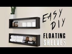 DIY Floating Shelves | CONTEMPORIST