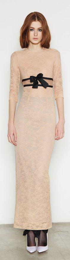 7ab353102e06 Alessandra Rich RTW Fall Winter 2013-2014 Glam Dresses