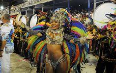 Carnaval - Raíssa Oliveira, rainha da Beija-Flor de Nilópolis.