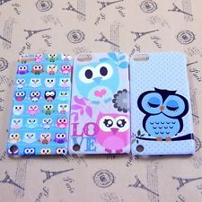3x Cute Lovely Owl Hard Back Skin Case Cover For iPod Touch iTouch 5 Gen 5G 5th