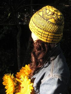 Topaz Hat pattern by Amy Keefer