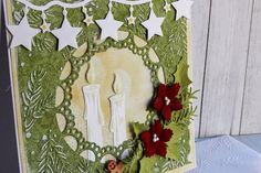 Scrap Pasja: Kartka świąteczna- testujemy foldery do embossingu...