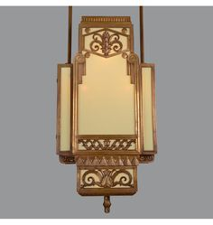 Rejuvenation Deco: We've restored a pair of these gorgeous Art Deco lights, c.1930