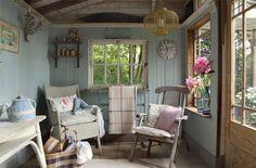 Romantische cottage met vintage inrichting