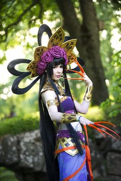 Ichihara Yuuko (tropical dress) from xxxHolic