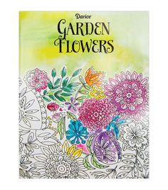 Did you know coloring is a stress reliever? Grab a colored pencil and get some craft therapy with Darice Coloring Book-Flower, adult coloring books!