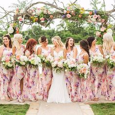 Loving these bridesmaid dresses from @showmeyourmumu  Perfect for a spring or