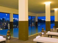 Watch The Sunset While You Take A Dip In The Indoor Pool In Djerba. Radisson