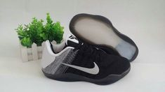 finest selection 252b1 d95a9 Factory Authentic Kobe 11 XI Youth Big Boys Flyknit Last Emperor Black Cool  Grey