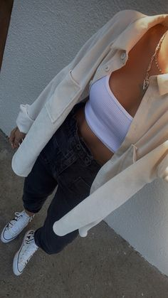 Teen Fashion Outfits, Mode Outfits, Look Fashion, Cute Casual Outfits, Pretty Outfits, Mode Hipster, Look Blazer, Cooler Look, Mode Style