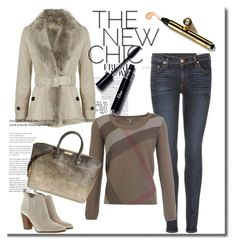 """""""Outfit # 3976"""" by miriam83 ❤ liked on Polyvore featuring Burberry, rag & bone and MICHAEL Michael Kors"""