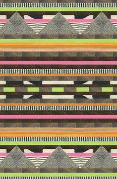 DG Design Aztec Pattern