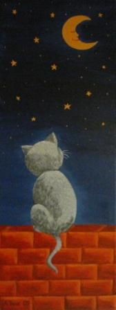 """Andrejka Kunc   """"Expectation""""  acrylic/canvas   2007"""