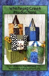Six Pack Stack Tote Pattern