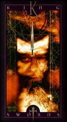 Vertigo Tarot - 14 - King of Swords