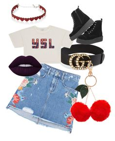 """Festival Life"" by anselma on Polyvore featuring MANGO, Gucci, Accessorize and Simons"