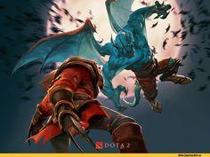 Balanar the Night Stalker,Lycanthrope (Dota),Dota 2,фэндомы,Dota Art,Night Stalker,Lycan