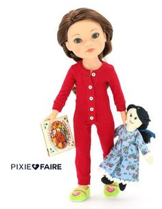 "Charlotte 18"" Cloth Doll Pattern 