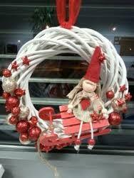 Výsledek obrázku pro vánoční dekorace na dveře