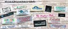 Clothing Labels, Sewing Labels, Woven Labels, Personalized Ribbons, Iron On Labels Personalized Ribbon, Personalized Labels, Custom Labels, Quilt Labels, Fabric Labels, Kids Clothing Brands, Clothing Labels, Name Maker, Baby Boy Fashionista