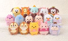 The complete Disney ufufy collection featuring classic Disney characters!