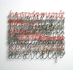 Artworks | Paper Calligraphy | Miriam Londoño