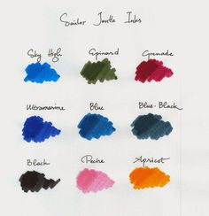 Write to Me Often: Sailor Jentle Inks / Sailor Jentle Mürekkepler