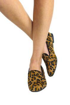 Jo-Jo 01 Breckelle's Leopard Print Flats - uoionline.com: Women's Clothing Boutique
