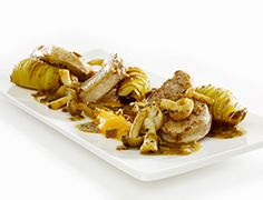 Almond Thins with Pork Tenderloin, Butternut & Truffle http://www.destrooper.be/en/recipe-ideas/ab-varkenshaasje-en-pompoen.aspx?recipe=4
