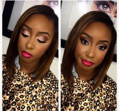 cool Beauty marked by Joelle. Houston MUA. African American makeup. ...