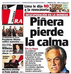 Primer día de alegatos. Chile - 06.12.12 (La Primera - Perú - 07.12.12). #LaHaya #Peru #Chile